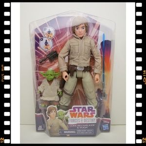 Star~Wars~Forces~Of~Destiny~Luke~Skywalker~Yoda~